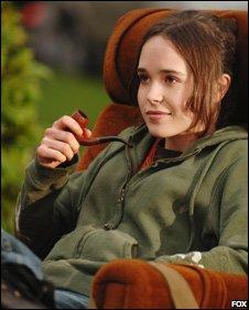 Ellen Page in scene from Juno