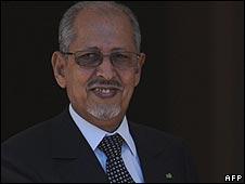 Mauritania's ousted president Sidi Ould Cheikh Abdallahi