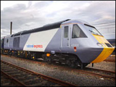 National Express East Coast Mainline train