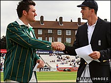 Graeme Smith and Kevin Pietersen