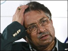Pervez Musharraf, file photo from July 2008