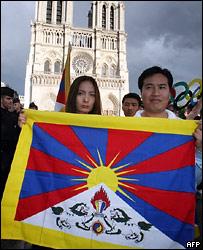 Сторонники независимости Тибета