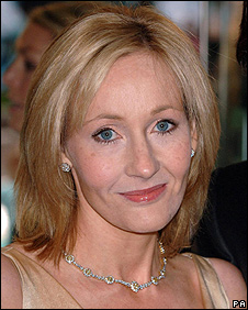 Author J K Rowling