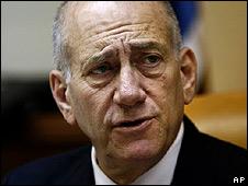 Israeli PM Ehud Olmert (03/08)