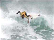 Boardmasters surfer