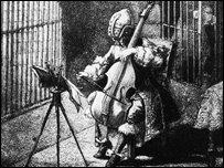 Man In The Iron Mask, illustration circa 1850.