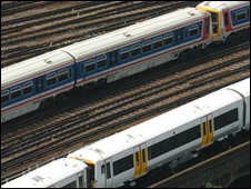 network rail trains