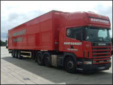 Lorry similar to the one which was hijacked (Photo courtesy of Cheshire Police)