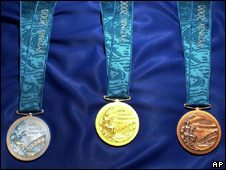 Sydney 2000 Olympic medals