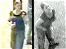 CCTV images of woman outside outside the Tredegar Arms pub