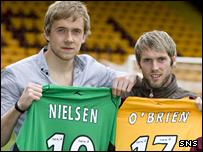Gunnar Neilsen and Jim O'Brien