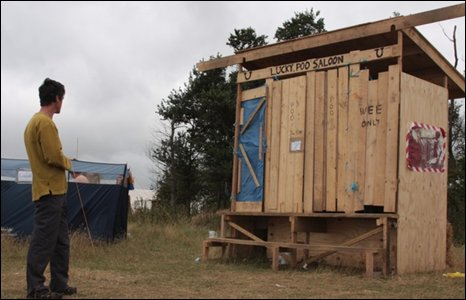 Environmentally friendly facilities have been set up on the site