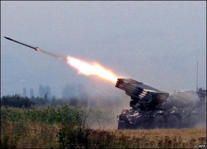 В результате обстрела погибло более 10 российских миротворцев