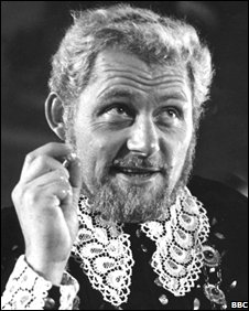 Robert Shaw as Claudius in Hamlet, 1964, BBC production
