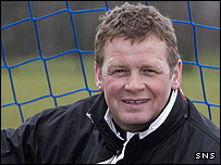 Queen of the South manager Gordon Chisholm