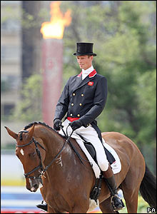 Britain's William Fox-Pitt on Parkmore Ed