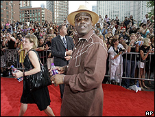 Bernie Mac at the premiere of Ocean's Thirteen
