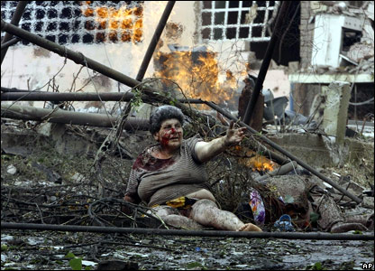 В Гори есть жертвы среди мирного населения