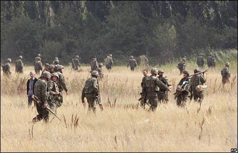 Georgian soldiers  (09/08/08)