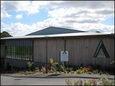 Hartpury College equestrian centre