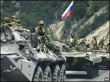 Russian tanks (8 August 2008)