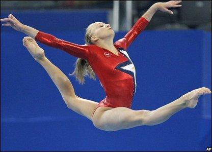 US gymnast Nastia Liukin