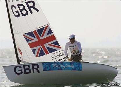 Ben Ainslie continues his quest for further Olympic glory