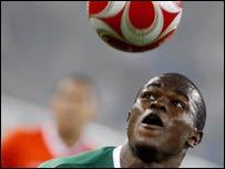 Nigeria striker Victor Obinna Nsofor