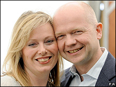 William and Ffion Hague