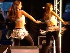 Dancers at the London Mela 2003