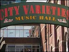 Leeds City Varieties sign