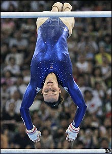 Beth Tweddle manages to scrape into the individual final of the uneven bars