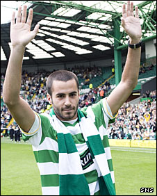 Celtic's new signing Marc Crosas