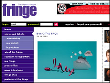 Edinburgh Fringe website