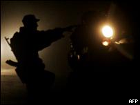 Вооруженный человек в Южной Осетии