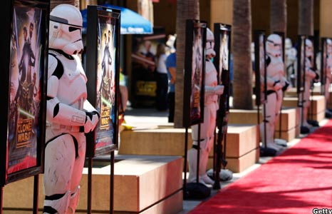 Stormtroopers at The Clone Wars premiere