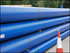 Thames Water pipes