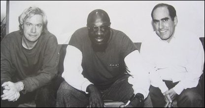 John Wooler and Isaac Hayes