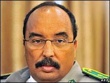 Gen Muhammad Ould Abdelaziz, 10 August 2008