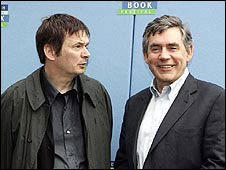 Ian Rankin and Gordon Brown