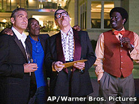 George Clooney, Don Cheadle, Elliott Gould and Bernie Mac