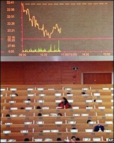 Shanghai stock exchange, AP