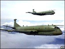 A pair of Nimrod MR2s