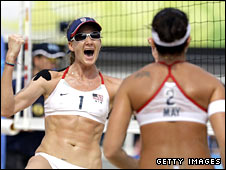 Kerri Walsh and Misty May-Treanor