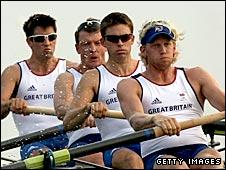 Team GB's men's coxless four