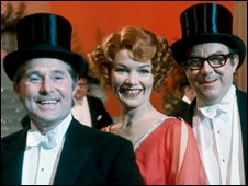 Morecambe and Wise with Glenda Jackson in 1972