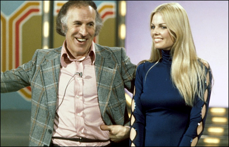 Bruce Forsyth and Anthea Redfern, 1974