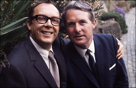 Eric Morecambe and Ernie Wise in 1968