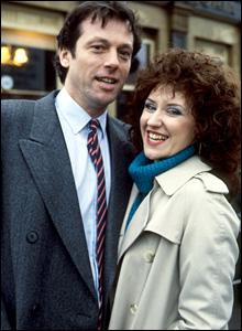 Leslie Grantham and Anita Dobson, EastEnders, 1985
