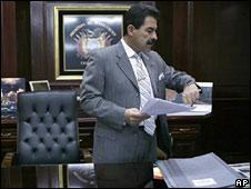 Cochabamba Governor Manfred Reyes Villa